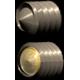 Standardní šroub x CP-Screw šroub (detail)