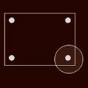 Ozdobné krytky hlav šroubů BERN, GENF